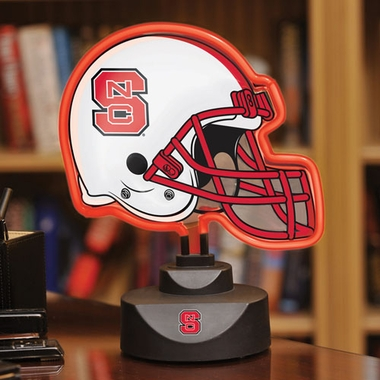 NC State Neon Display Helmet
