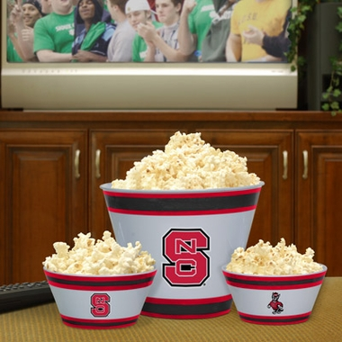 NC State Plastic Serving Set