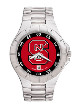 NC State Pro II Men's Stainless Steel Watch