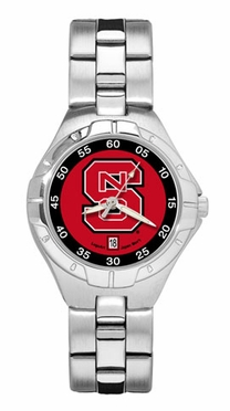 NC State Pro II Women's Stainless Steel Watch
