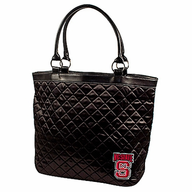 NC State Quilted Tote