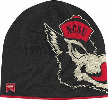 NC State Reversible Vault Logo Knit Hat