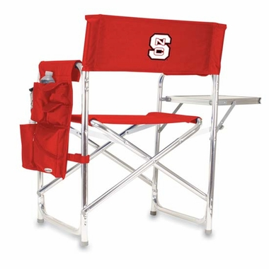 NC State Sports Chair (Red)