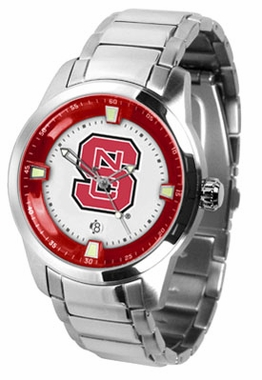 NC State Titan Men's Steel Watch