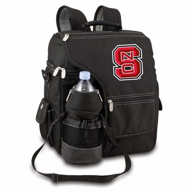 NC State Turismo Embroidered Backpack (Black)