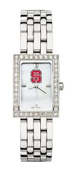 NC State Women's Steel Band Allure Watch