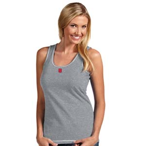 NC State Womens Sport Tank Top (Color: Gray) - Large