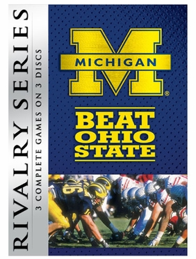 NCAA Rivalry Series: Michigan Beats Ohio State DVD