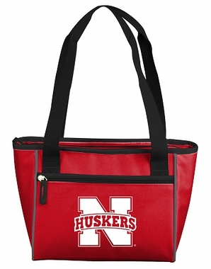 Nebraska 16 Can Tote Cooler