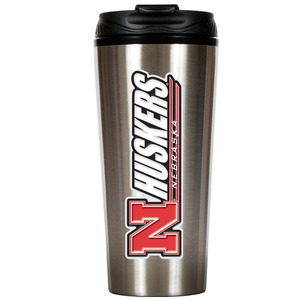 Nebraska 16 oz. Thermo Travel Tumbler