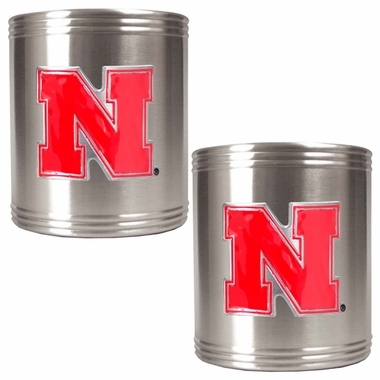 Nebraska 2 Can Holder Set