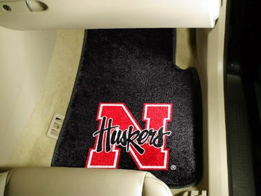 Nebraska 2 Piece Car Mats