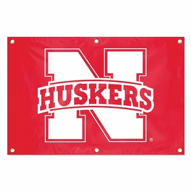 Nebraska 2 x 3 Horizontal Applique Fan Banner