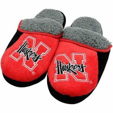 Nebraska 2012 Sherpa Slide Slippers