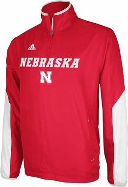 Nebraska 2012 Sideline 1/4 Zip Pullover Hot Jacket