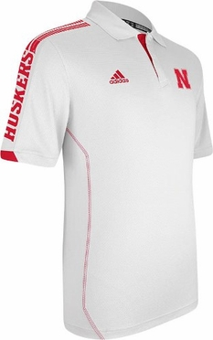 Nebraska 2012 Sideline Swagger Performance Polo Shirt