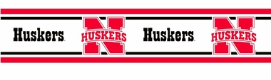 Nebraska 5.5 Inch (Height) Wallpaper Border