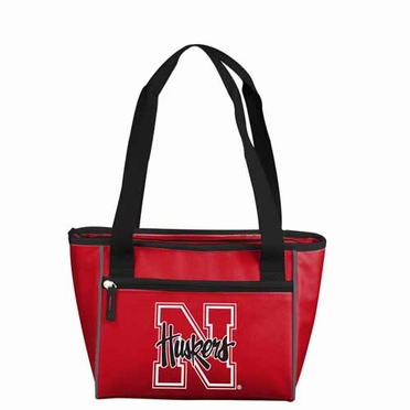 Nebraska 8 Can Tote Cooler