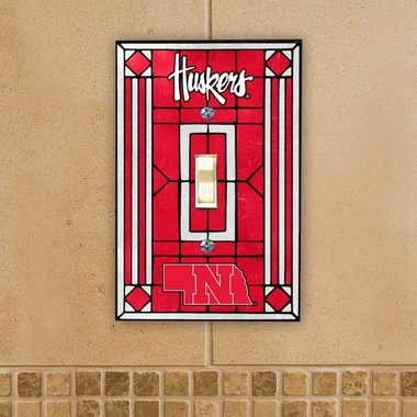 Nebraska Art Glass Lightswitch Cover