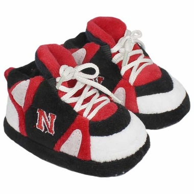 Nebraska Baby Slippers