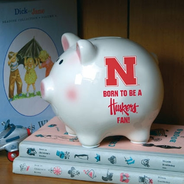 Nebraska (Born to Be) Piggy Bank