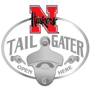 Nebraska Bottle Opener Hitch Cover