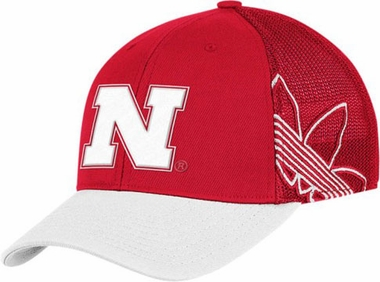 Nebraska Branded Logo Structured Flex Hat