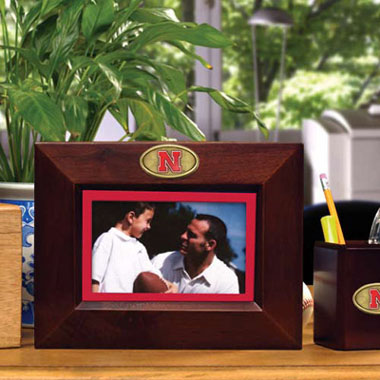 Nebraska BROWN Landscape Picture Frame