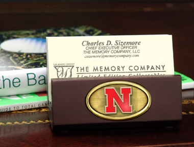 Nebraska Business Card Holder
