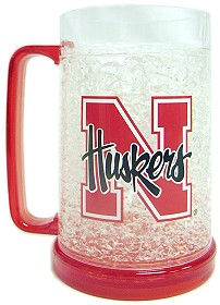 Nebraska Crystal Freezer Mug