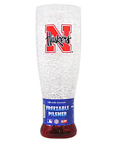 Nebraska Crystal Pilsner Glass