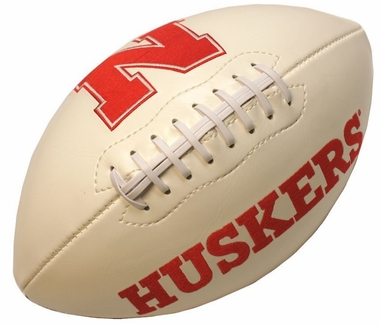 Nebraska Embroidered Foto Football