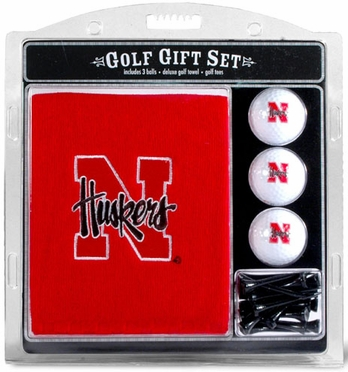 Nebraska Embroidered Towel Gift Set