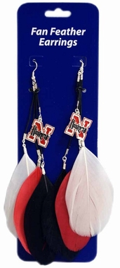 Nebraska Feather Earrings