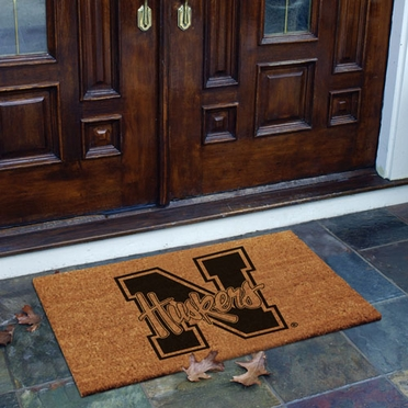 Nebraska Flocked Coir Doormat