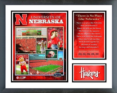 Nebraska Framed Milestones & Memories