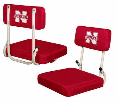 Nebraska Hard Back Stadium Seat
