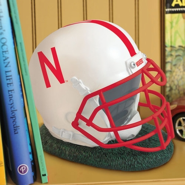 Nebraska Helmet Shaped Bank