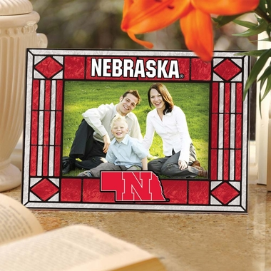 Nebraska Landscape Art Glass Picture Frame