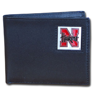 Nebraska Leather Bifold Wallet (F)