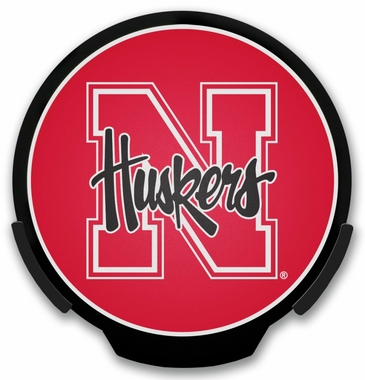Nebraska Light Up Power Decal