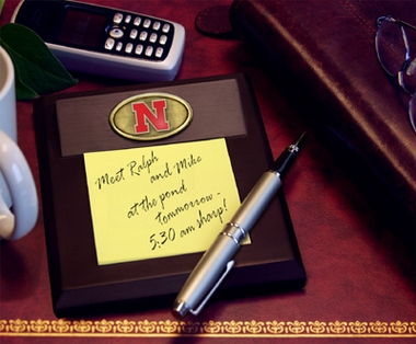 Nebraska Memo Pad Holder