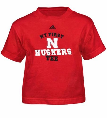 Nebraska My First Tee Toddler Shirt