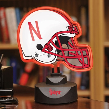 Nebraska Neon Display Helmet