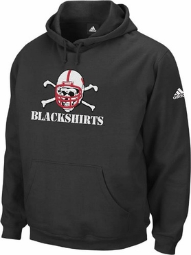 Nebraska Playbook Hooded Sweatshirt (Blackshirts)