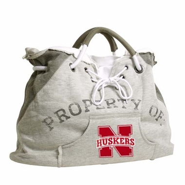 Nebraska Property of Hoody Tote