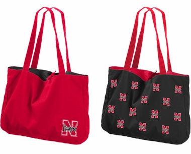 Nebraska Reversible Tote Bag