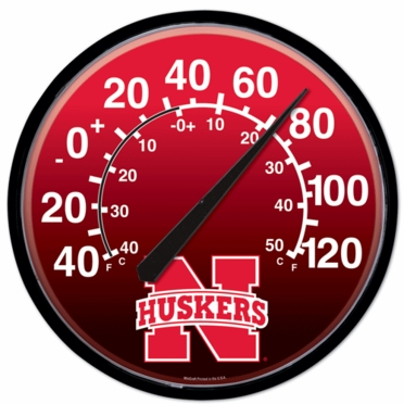 Nebraska Round Wall Thermometer