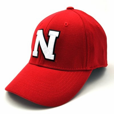 Nebraska Team Color Premium FlexFit Hat