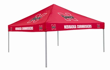 Nebraska Team Color Tailgate Tent